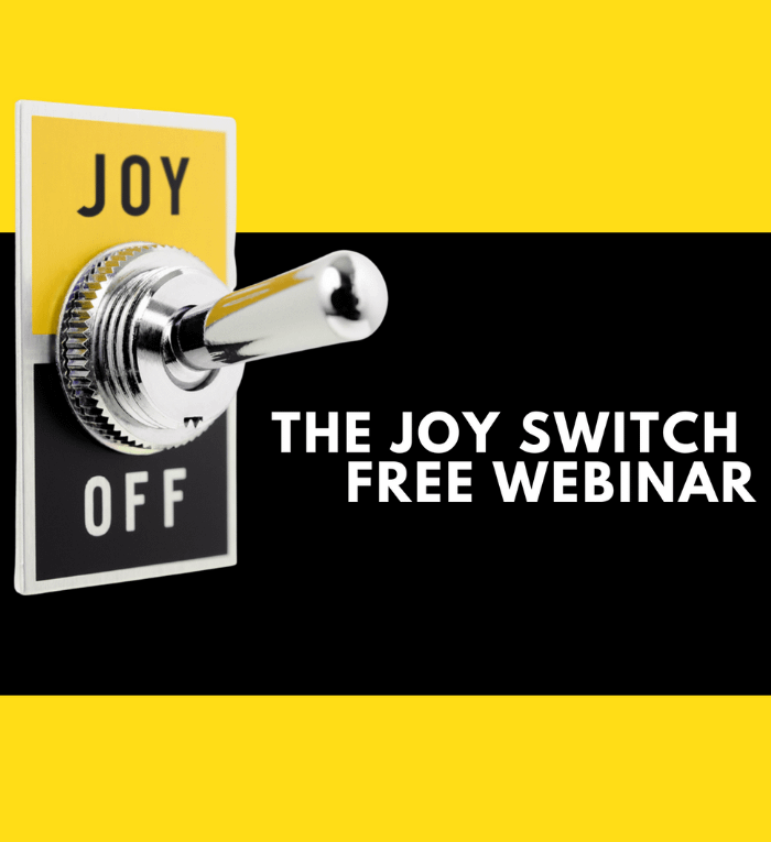 Joy Switch Free Webinar